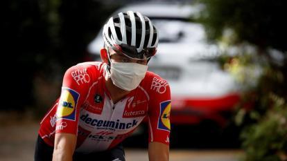 Los ciclistas vienen cumpliendo con los protocolos de bioseguridad.