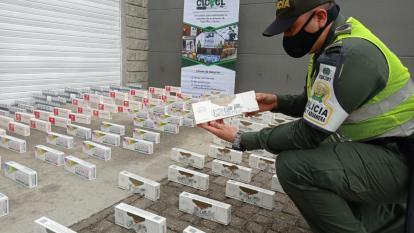 Caen en Santa Marta 9 mil cajetillas de cigarrillos de contrabando