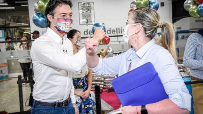 """""""EPM revisa si puede o no entrar a operar Caribe Mar"""": Daniel Quintero"""