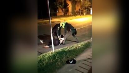 Fiscalía indaga muerte en medio de exceso de fuerza policial