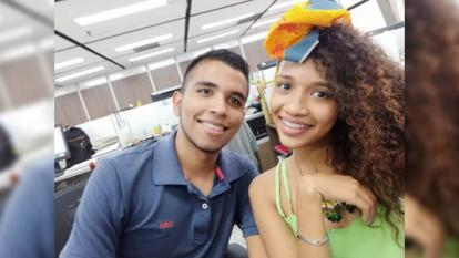 Jorge Luis Polo y Angie Marcela Redondo, ganadores de la convocatoria  Shhneider Go Green 2020.