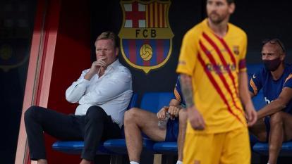 Con Messi de titular, el Barcelona de Koeman gana su primer partido