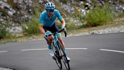 Miguel Ángel 'Supermán' López se mantiene en el tercer lugar del Tour de Francia.