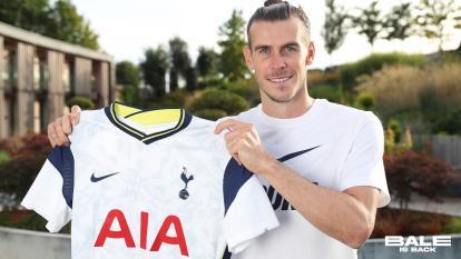 Gareth Bale llegó en condición de préstamo.