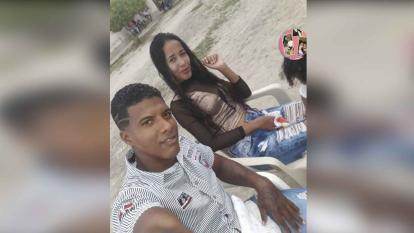 El capturado, Aldair Carreño, y Katiuska Rangel, la víctima, eran pareja.