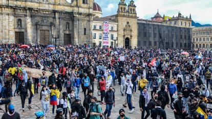 Jornada pacífica, pero con algunos disturbios