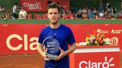 Diego Schwartzman fue campeón del Challenger de Barranquilla en 2016.