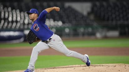José Quintana realizó su primera salida de la temporada con los Cubs