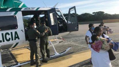 Vendaval afectó casa en Sierra Nevada y causó heridas a 3 niños arhuacos