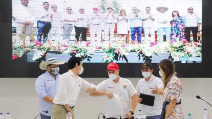 Sucre anuncia su millonaria inversión al Pacto del Golfo