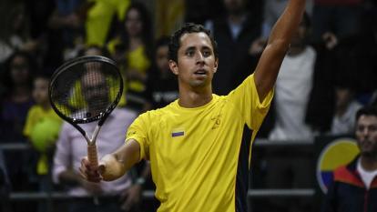 Daniel Galán, tenista colombiano.