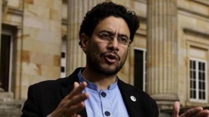 Iván Cepeda, senador de la República.