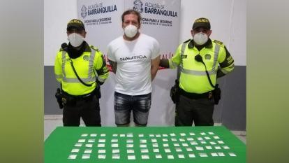 John Jairo Betancour Soler, capturado.