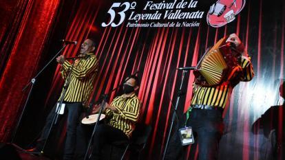 Los profesionales del acordeón salieron al ruedo en el Festival Vallenato