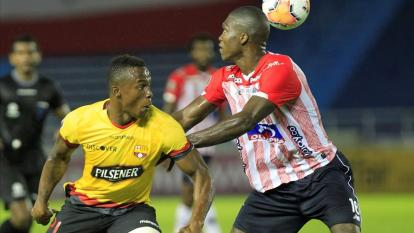 Barcelona de Ecuador reportó cinco casos de Covid-19 tras duelo ante Junior