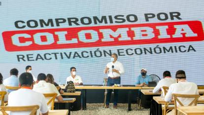 """""""Los colombianos queremos justicia"""": Duque tras reconocimiento de Farc"""