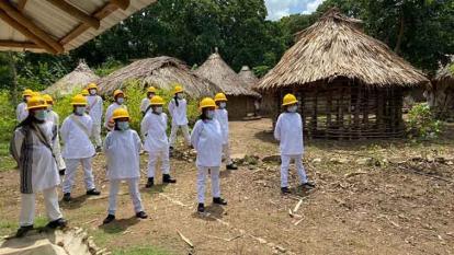 Ciénaga, primer municipio del Caribe con bomberos forestales indígenas