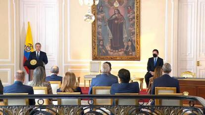 Presidente Duque posesiona a Wilson Ruiz como nuevo ministro de Justicia