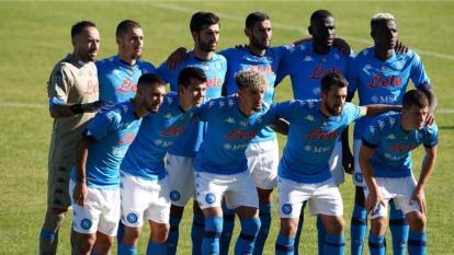 El Napoli es uno de los equipos que cuenta con casos positivos de Covid-19.