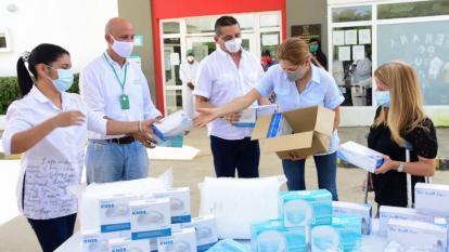 Piojó, Tubará y Juan de Acosta recibieron dotación hospitalaria