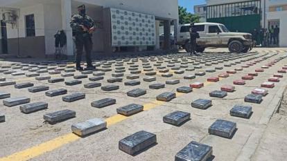 Caen 471 kilos de cocaína en Maicao