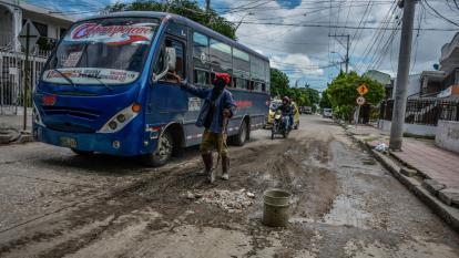 Residentes de Los Trupillos reportan vías en mal estado