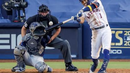 En video   Astros dejan en el terreno a Rays y aprietan la serie