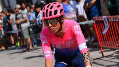 El 'EF', de Rigoberto Urán, solicita la suspensión del Giro de Italia