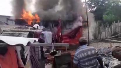 El más reciente incendio se registró el miércoles en una vivienda de madera de Bocachica.