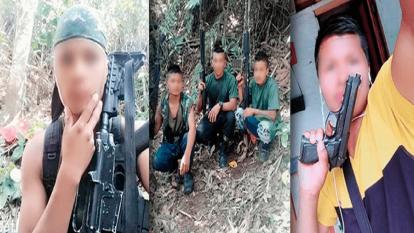 Joven armado no pertenece a la minga indígena y las imágenes no son actuales