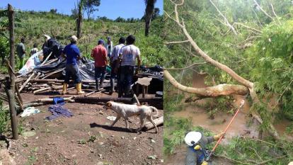 Vendaval deja sin energía a zonas rurales en Cesar