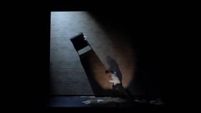 Escena de la obra teatral 'Inconsolable' del escritor español Javier Gomá.