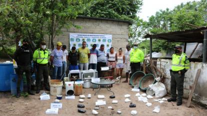 En video   Desmantelan laboratorio productor de cocaína en Polonuevo