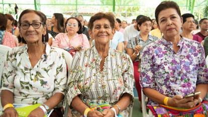 Reunión de pensionados, antes de la pandemia.