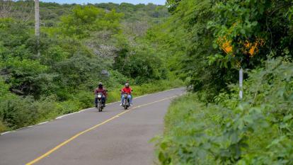 Secretaría de Infraestructura asegura que por la temporada de lluvia es normal que se den estos casos en las carreteras.