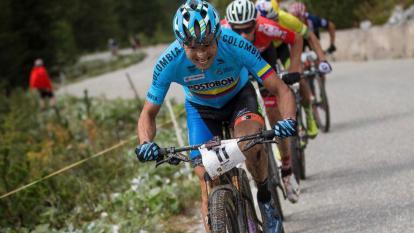 El colombiano Héctor Leonardo Páez venció a 56 ciclistas en la competencia.