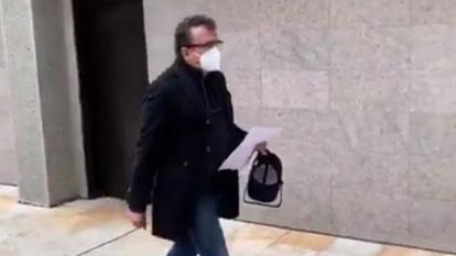 Senador Pulgar guardó silencio ante la Corte Suprema