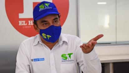 Superintentende Delegado de Puertos, Álvaro Ceballos.