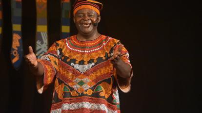 Boniface Ofogo, narrador oral camerunés.