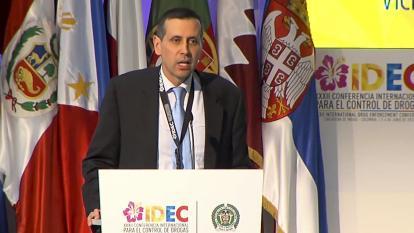 Francisco Echeverri, viceministro de Relaciones Exteriores.