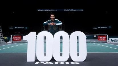 """""""Por suerte he ganado más que perdido"""", dice Nadal tras victoria 1.000"""