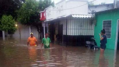 Alerta roja en el Magdalena por lluvias y creciente súbita de ríos