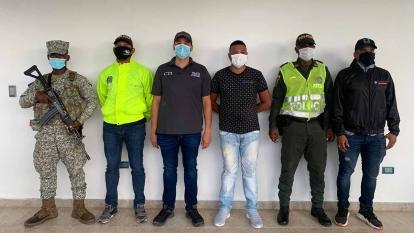 En video | Capturan a presunto autor de crimen de ambientalista en Chocó
