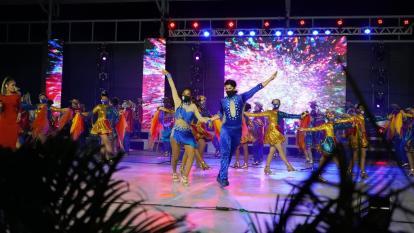 En video   El Caribe sonó fuerte en apertura del GFACCT