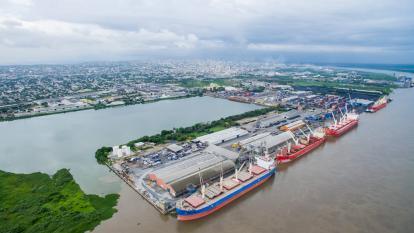 El Puerto de Barranquilla Lo Hace Posible