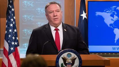 Mike Pompeo, Secretario de Estado