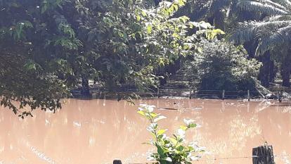 Invierno inunda 180 hectáreas de cultivos en Riohacha
