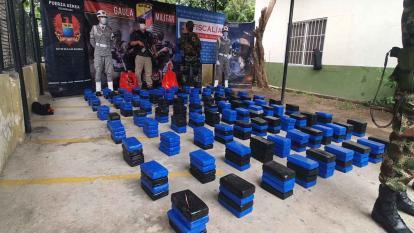 En video   Incautan cerca de media tonelada de cocaína en La Guajira
