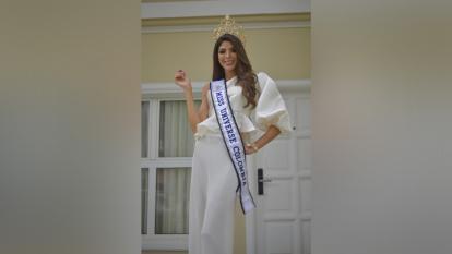 La cartagenera Laura Olascuaga representó por segunda vez al departamento Bolívar en un certamen que escogía a la candidata de Colombia al Miss Universo. La primera vez fue virreina y ahora es la ganadora.