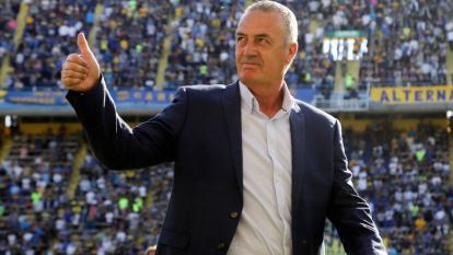 Gustavo Alfaro, técnico de la selección de Ecuador.